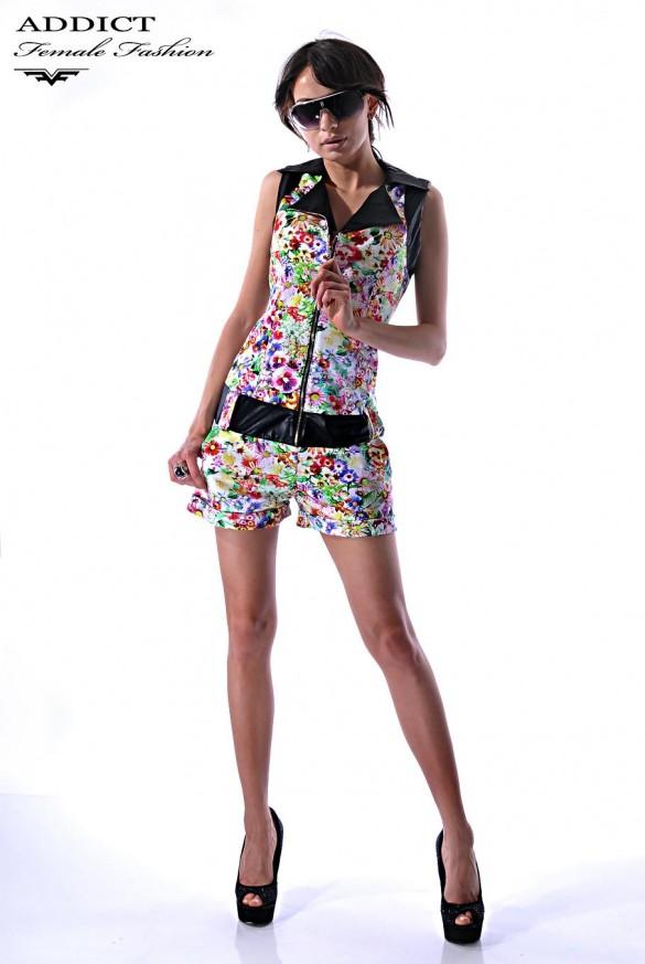 Pantaloni Flower Jumsuit
