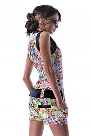 Pantaloni Gashterizon Flower Jumsuit
