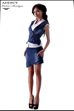 sprten eleganten dynkov komplekt s elek i pola pantalon 2