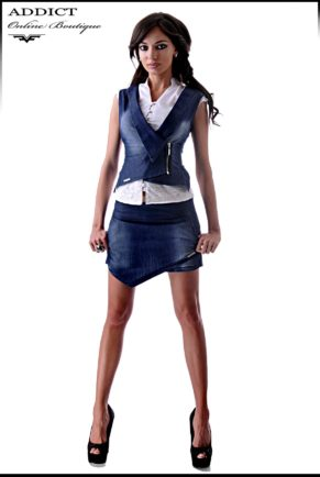 sprten eleganten dynkov komplekt s elek i pola pantalon