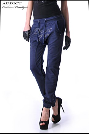 SPORT PANTS 1 BLUE Sporten Stilen Pantalon 1