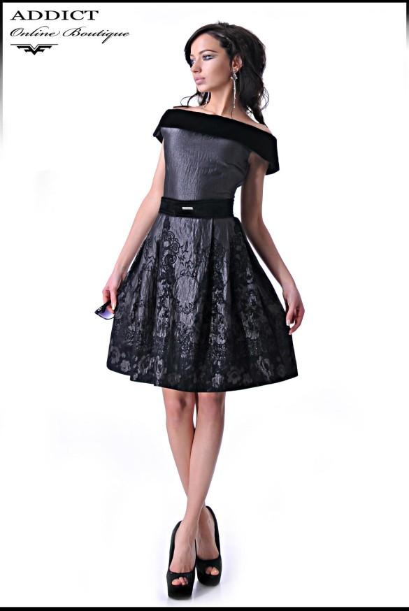 MICHEL 2 BLACK Elegantna Roklq
