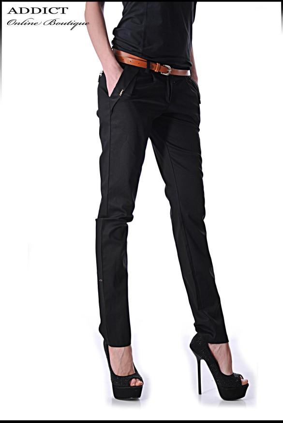 Cheren Eleganten Pantalon Pants9