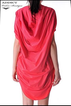 рокля червена JULIETA CORAL RED