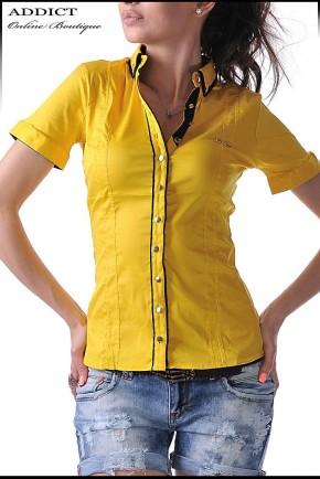 дамска риза YELLOW SHIRT жълта