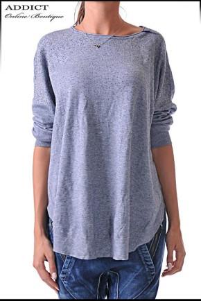 дамска блуза blouse 34 сива