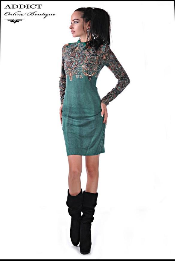 рокля BENETTE TURQUOISE