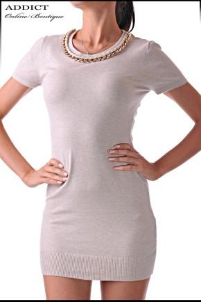 дамска блуза TUNIC-2-CREME