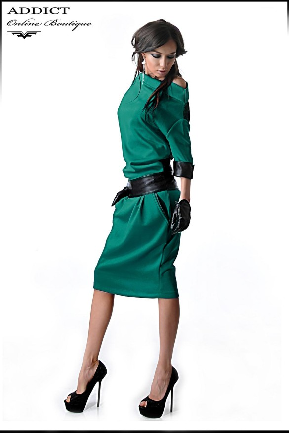 ежедневна рокля ALEXIS TURQUOISE