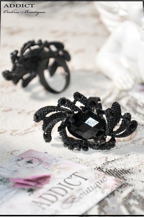 Prusten Cheren Ring Black 11 12