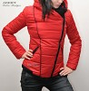 Sportno Damsko Qke Red Jacket 1