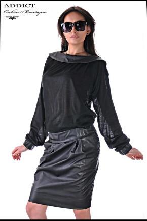 черна рокля Medelin 3