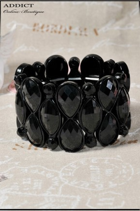колие necklace black 123 7