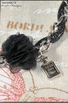 Kolie Necklace Black 123
