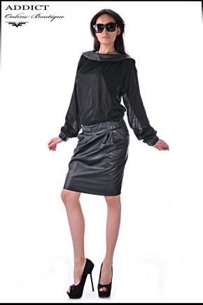 черна рокля Medelin 4