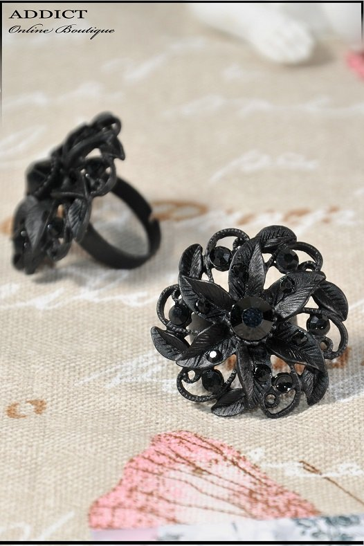 пръстен ring black 8