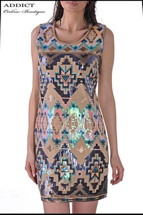 Рокля DRESS SHINE 2