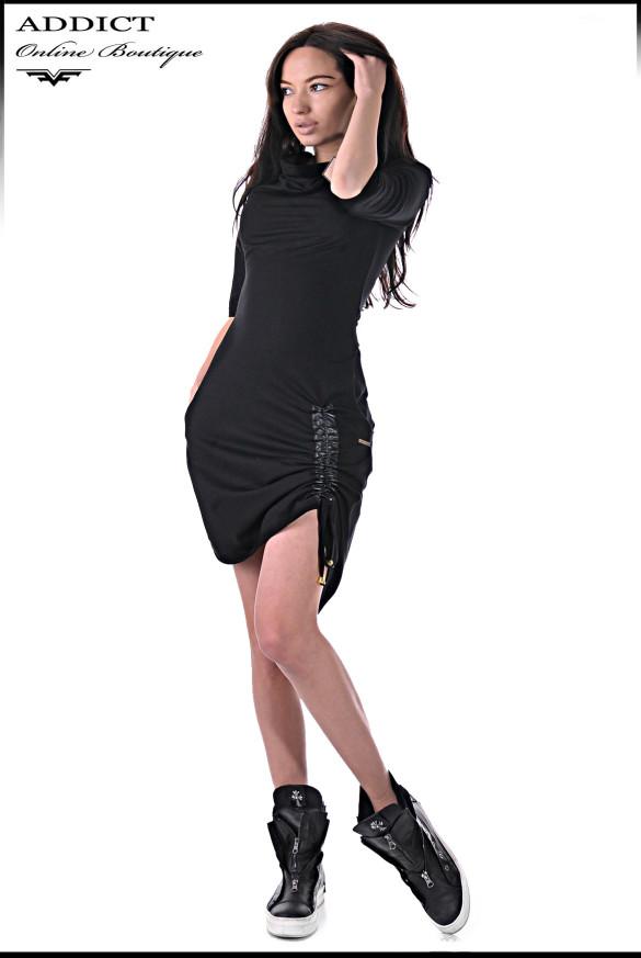 sportno elegantna cherna roklya dona копия