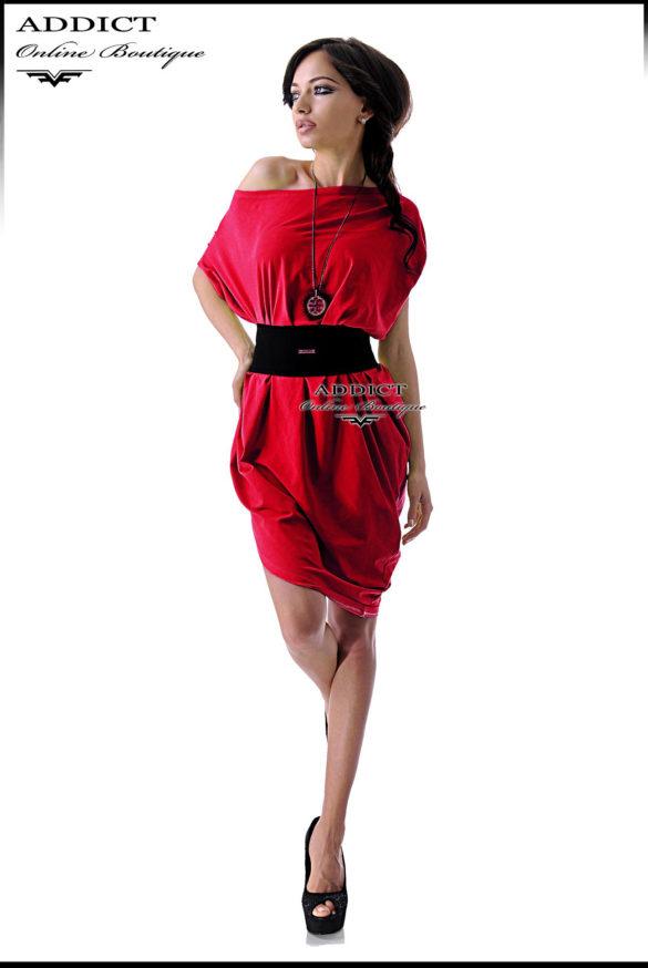 BIANKA RED svobodna chervena lyatna roklya 2