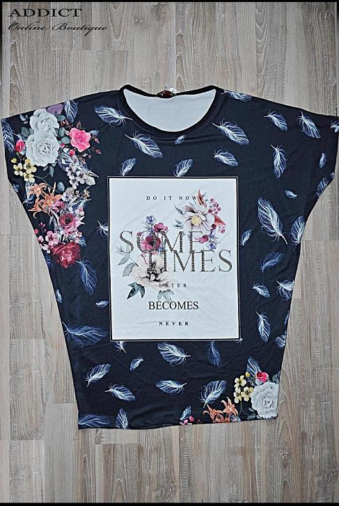 lyatna bluza s cvetya