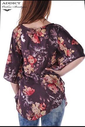lyatna tymno  bluza blouse butterfly 6