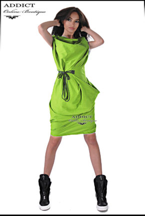 sportno elegantna roklya barby zelena 2 копия