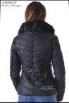 sportno коjeno  cherno yake s puhena yaka 6 leather jacket