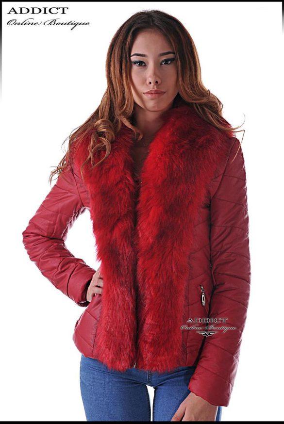 спорттно червено яке