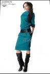 sportno elegantna roklya alexis turquoise копия