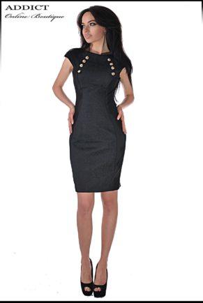 elegantna cherna roklya black jaklin 13