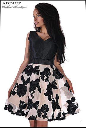 elegantna cherna roklya black jasmin 10