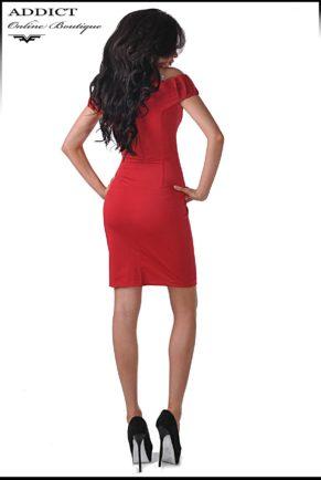 elegantna chervena roklya