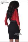 elegantna roklya s cherveno madona red 3
