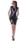 elegantna dozainerska cherna roklya kandy purple lace ot butik addict lozanova 2