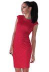 sportno elegantna dizainerska chervena roklya adi red ot butik addict nikoleta lozanova
