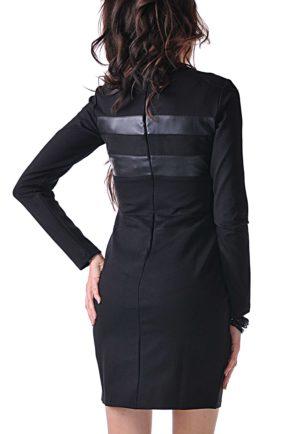 elegantna cherna roklya black lady 2 4