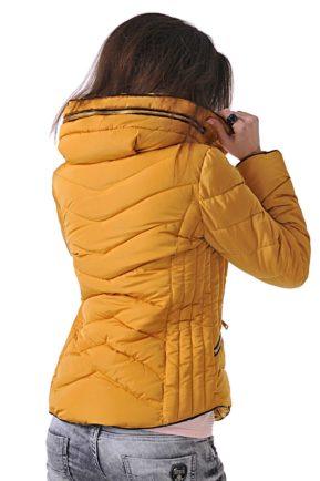 sportno shushlyakovo yake cvyat gorchica ot butik addict jacket 10