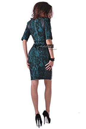 elegantna roklya kojena tuyrkoazena puma jenevie turquoise ot butik addikt