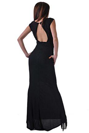 elegantna cherna roklya ot butik addict cosmo black 9 3