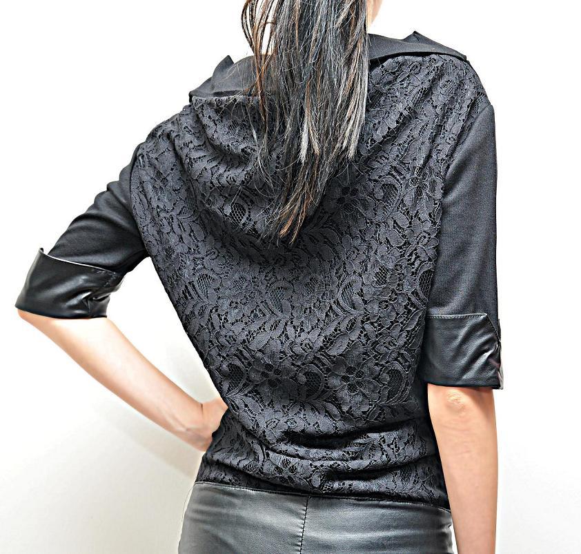 дълга черна рокля алексис лонг