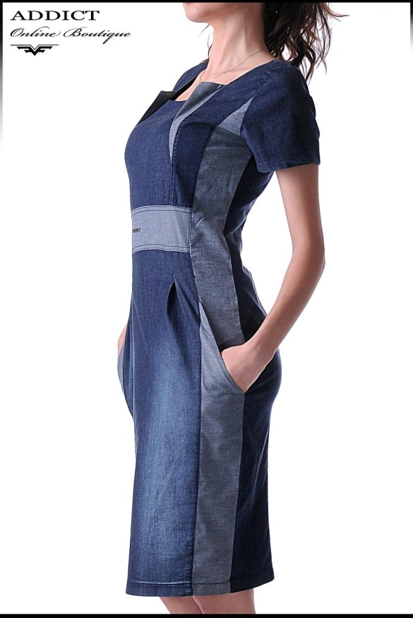 дънкова рокля DENIM DRESS 2