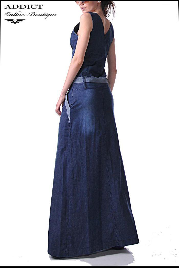 дънкова рокля BENITO