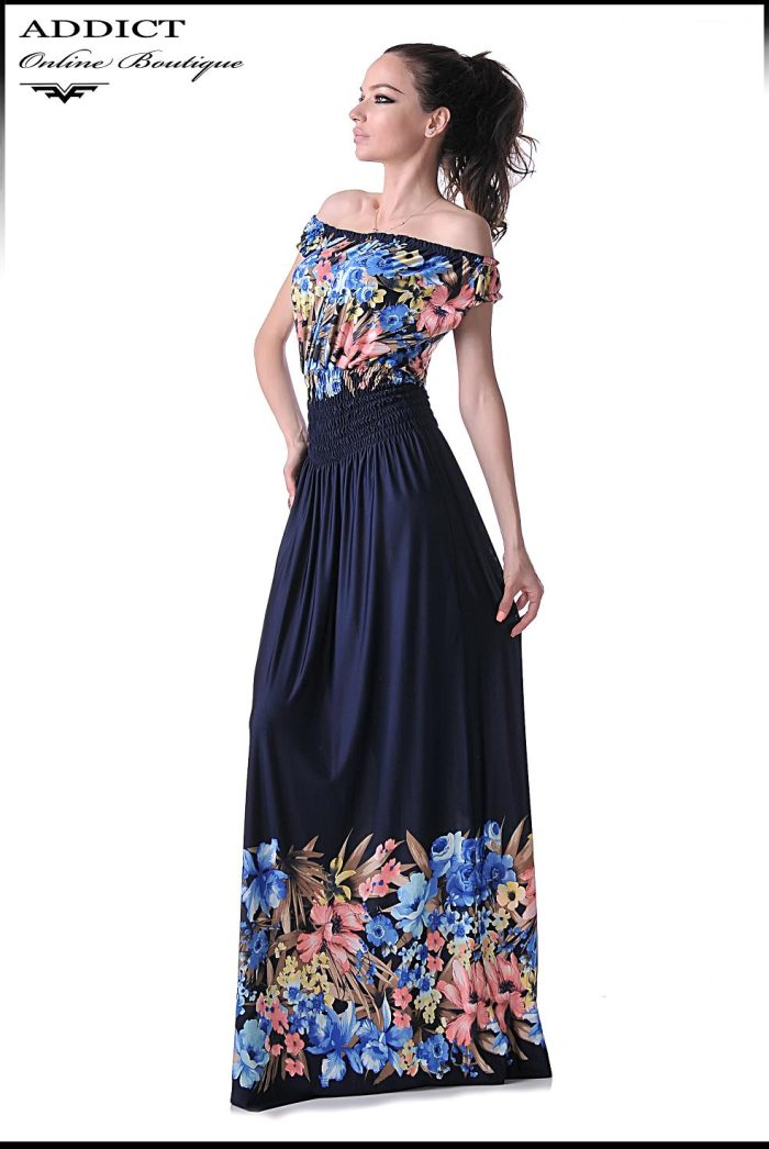 синя рокля ANGEL 5