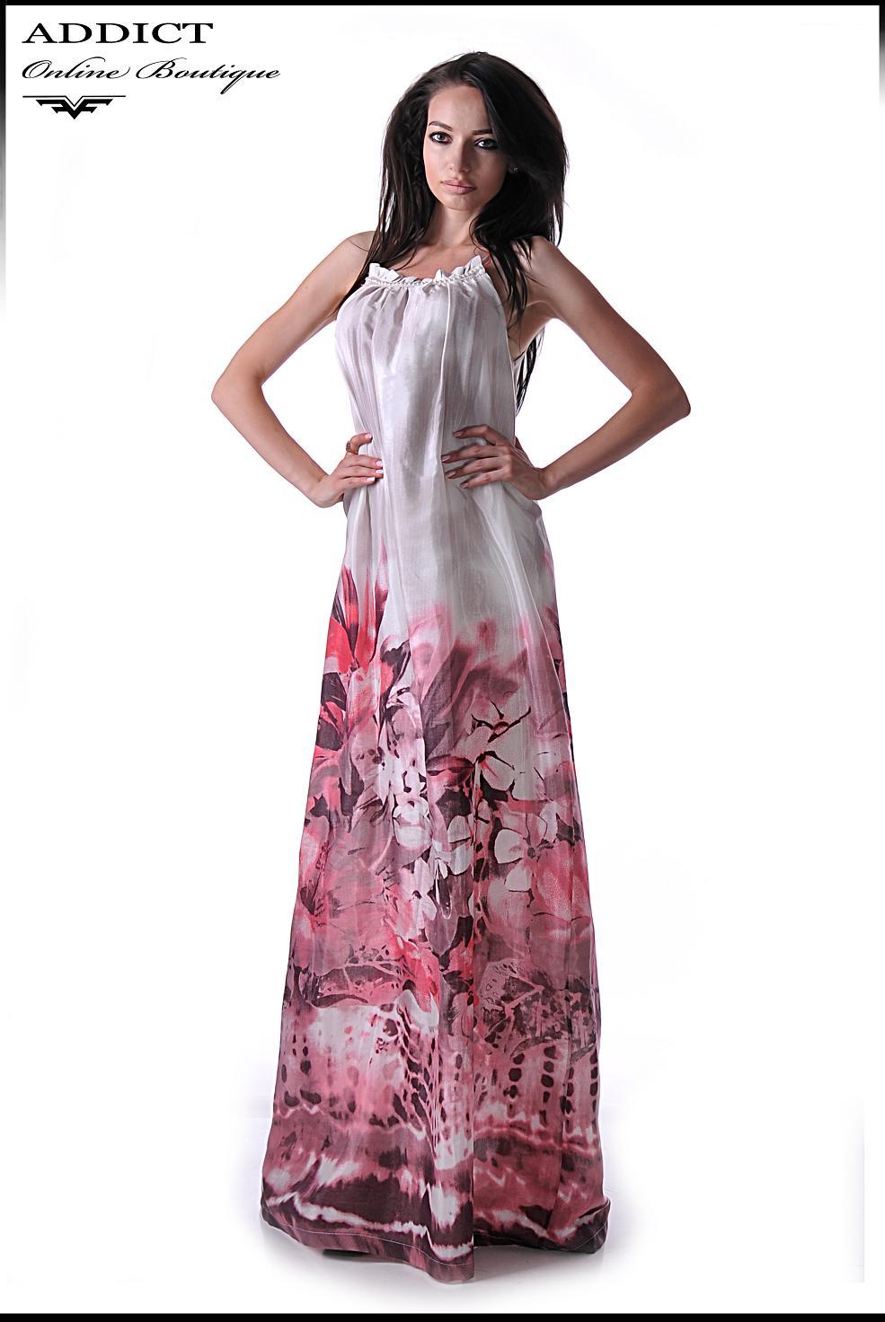 алиса корал дълга рокля