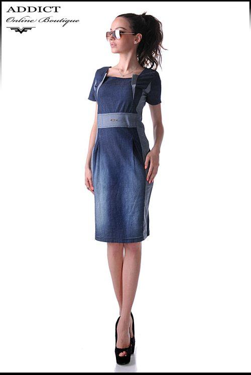 дамска дънкова рокля DENIM DRESS 2