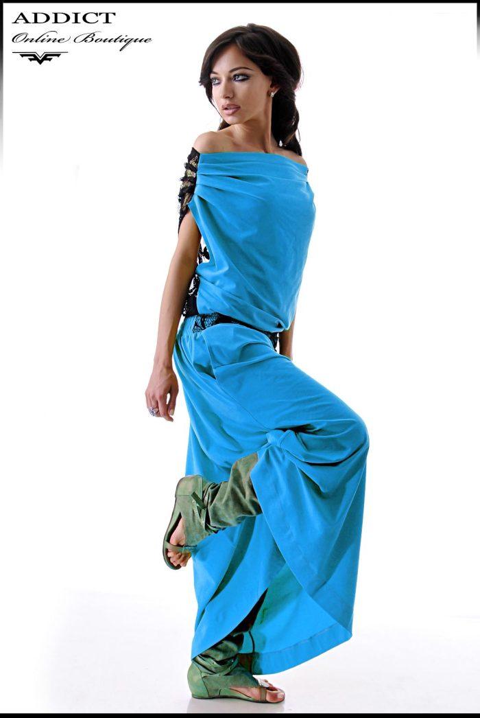 дамска синярокля ema blue svetla