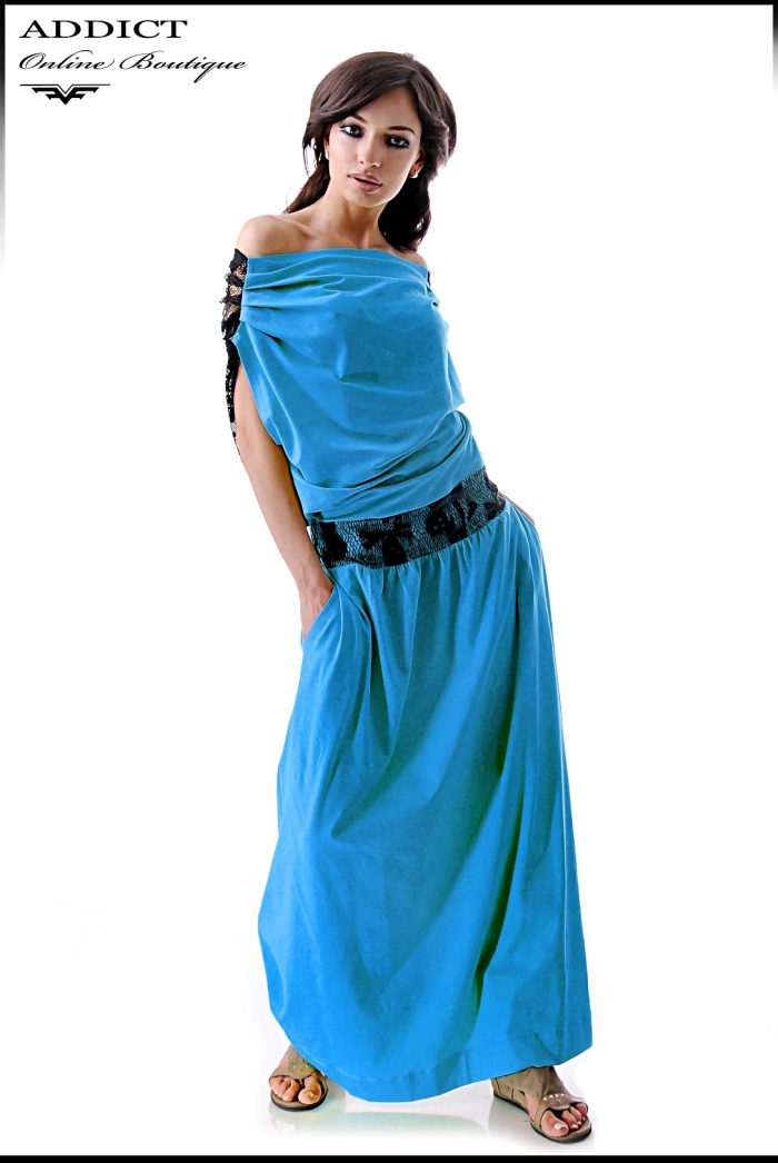 дамска синярокля ema blue