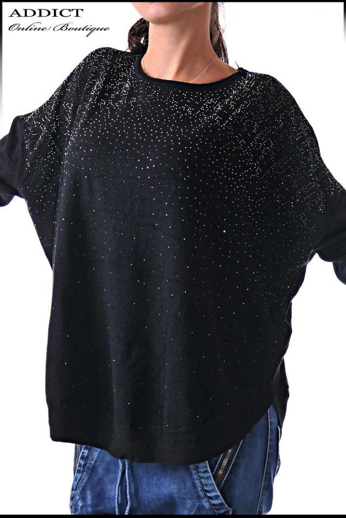 черна дамска блуза blouse 34