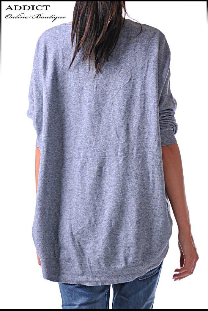 блуза на раета blouse 34 сива