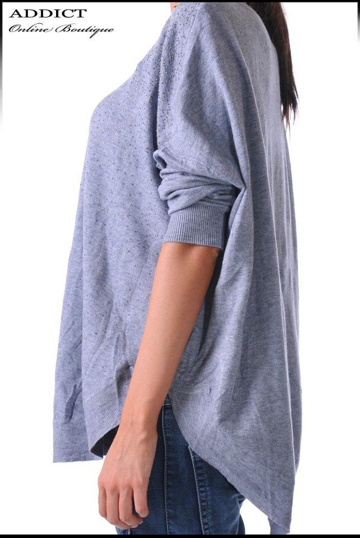 блуза сива 34 фимейл фешън
